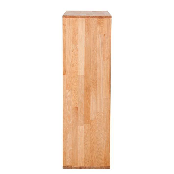 Kệ trang trí gỗ sồi ghép thanh NKK-04